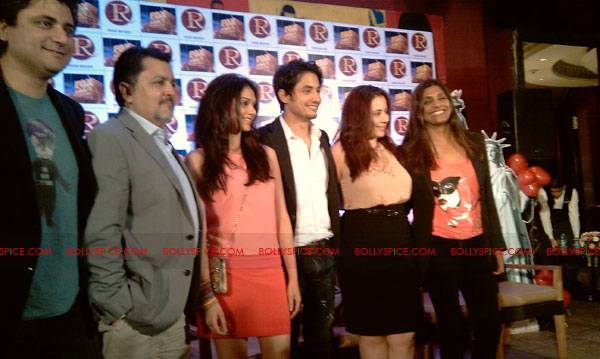 11sep zafar rao launch12 Ali Zafar and Aditi Rao at London Paris New York Launch