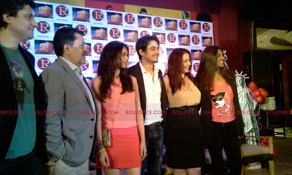 11sep zafar rao launch13 Ali Zafar and Aditi Rao at London Paris New York Launch