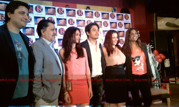 11sep zafar rao launch14 Ali Zafar and Aditi Rao at London Paris New York Launch