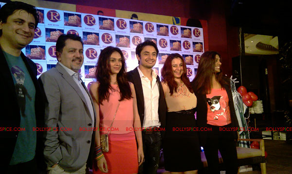11sep zafar rao launch15 Ali Zafar and Aditi Rao at London Paris New York Launch