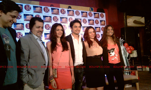 11sep zafar rao launch17 Ali Zafar and Aditi Rao at London Paris New York Launch