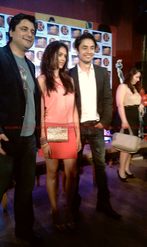 11sep zafar rao launch19 Ali Zafar and Aditi Rao at London Paris New York Launch