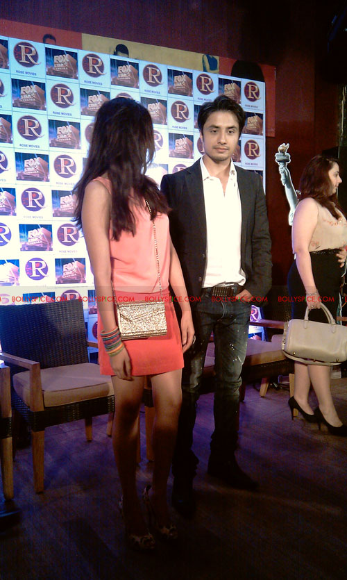 11sep zafar rao launch20 Ali Zafar and Aditi Rao at London Paris New York Launch