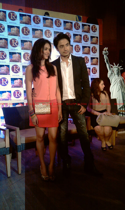 11sep zafar rao launch22 Ali Zafar and Aditi Rao at London Paris New York Launch