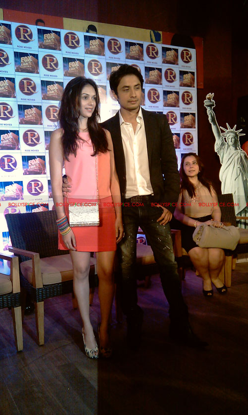 11sep zafar rao launch24 Ali Zafar and Aditi Rao at London Paris New York Launch