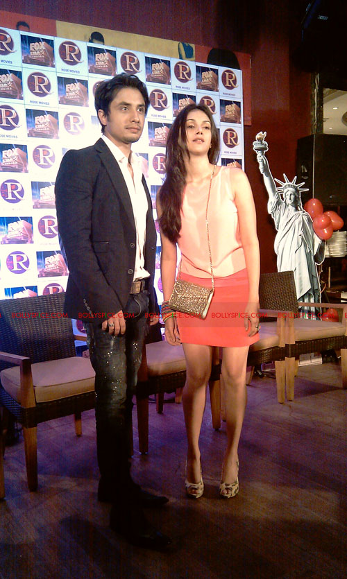 11sep zafar rao launch32 Ali Zafar and Aditi Rao at London Paris New York Launch