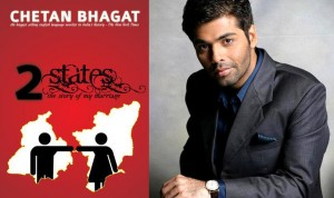 11oct KJo 2states 300x178 Dharma Productions adapting 'Two States'