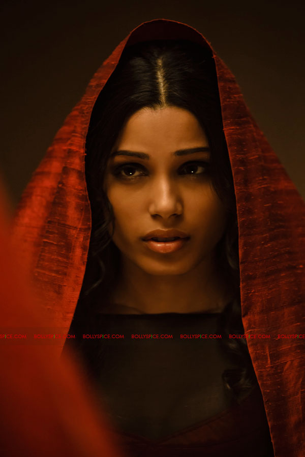 11oct freidapinto immortals Freida Pinto as the Sybelline Oracle