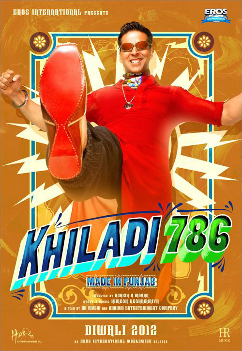 11oct khiladi786 poster01 Akshay is Back in Khiladi 786   Made in Punjab!