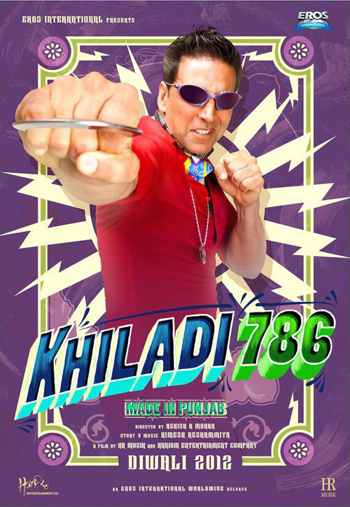 11oct khiladi786 poster02 Akshay is Back in Khiladi 786   Made in Punjab!