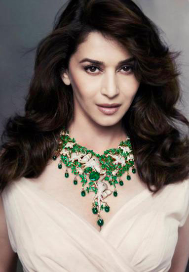 11oct madhuri back2india Madhuri is back!!