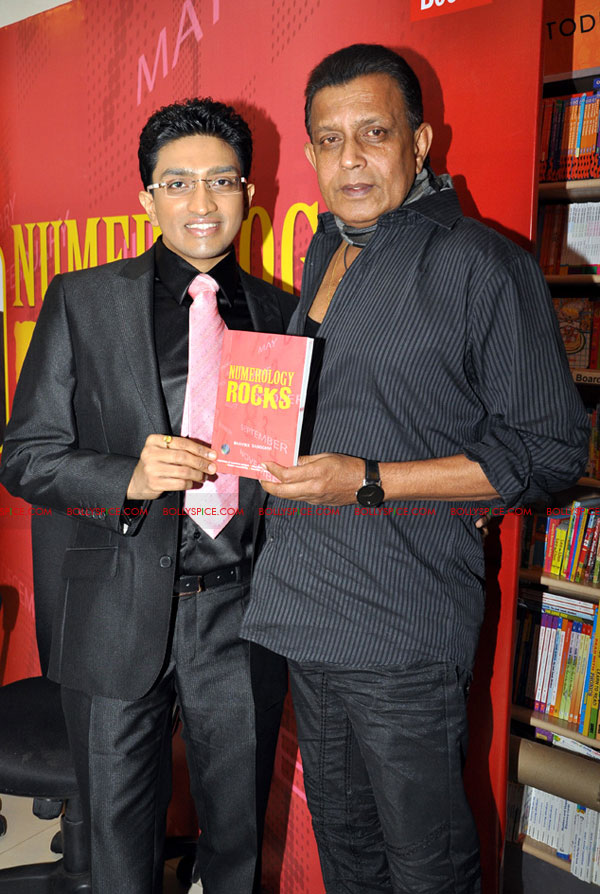 11oct mithun number01 Mithun Chakraborty launches Numerology Rocks