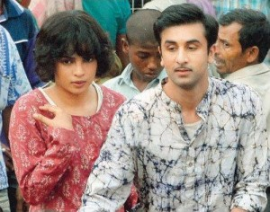 11oct priyanka onsetbarfii01 300x236 More on Priyanka and Ranbir in Barfii!