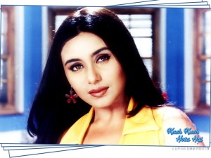 11oct rani faultydress KKHH 300x225 Rani Mukherjees faulty dress in Kuch Kuch Hota Hai