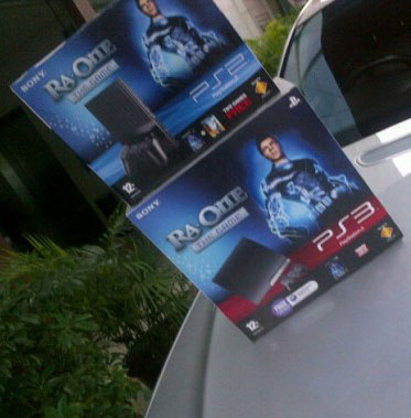 11oct raone sonyplaystation Ra.One Game on Sony Play Station