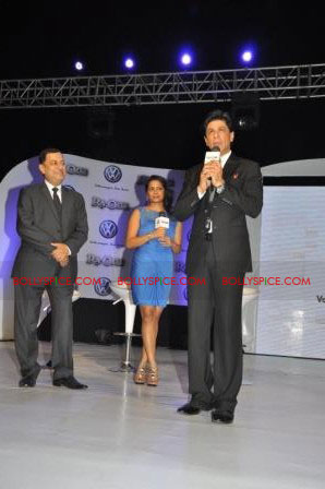 11oct raone vw01 Ra.One Volkswagen Phaeton event with Shah Rukh and Gauri Khan