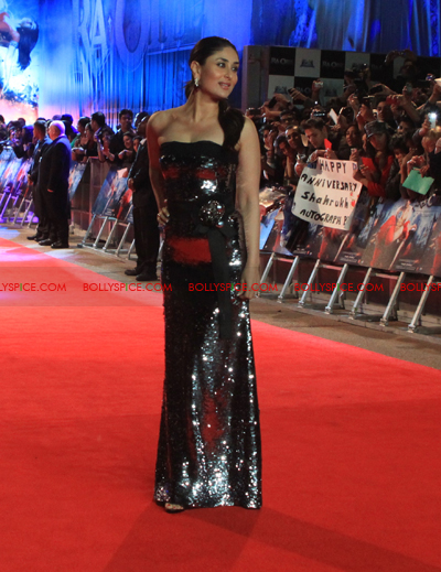 11oct raonetoronto kareena Exclusive Report: Ra.Ones London Red Carpet Premiere