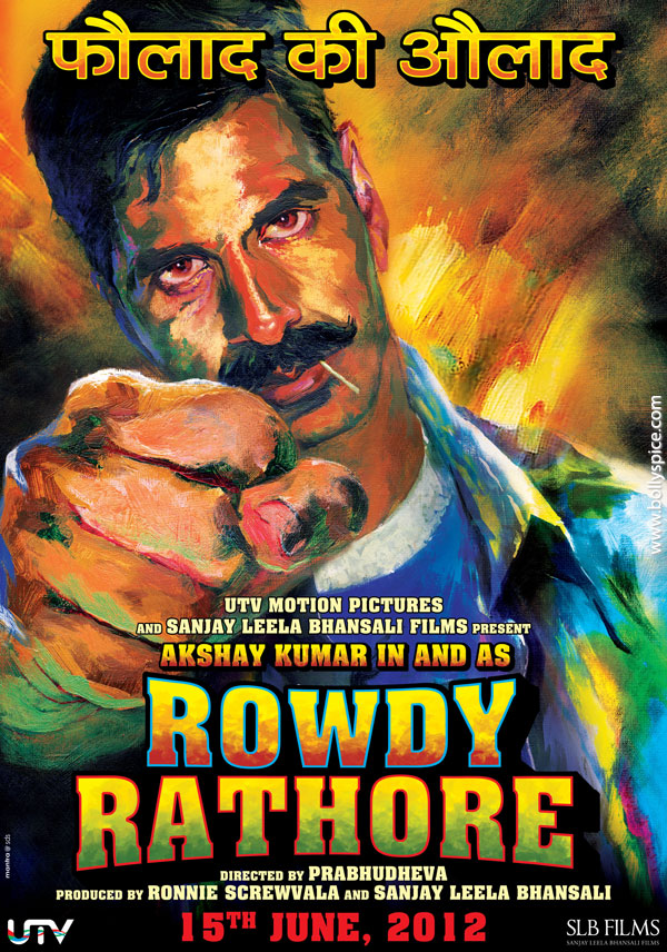 11oct rowdy rathore 1stlook Check out Akshay Kumars Rowdy Rathore!