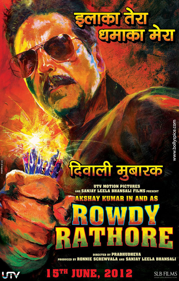 11oct rowdy rathore poster02 Rowdy Rathore says Happy Diwali