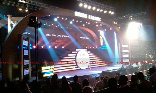11oct sheraclassic01 Amitabh Bachchan, Sanjay Dutt and Rana at Sheru Classic 2011