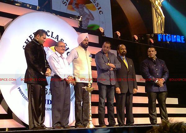 11oct sheraclassic06 Amitabh Bachchan, Sanjay Dutt and Rana at Sheru Classic 2011