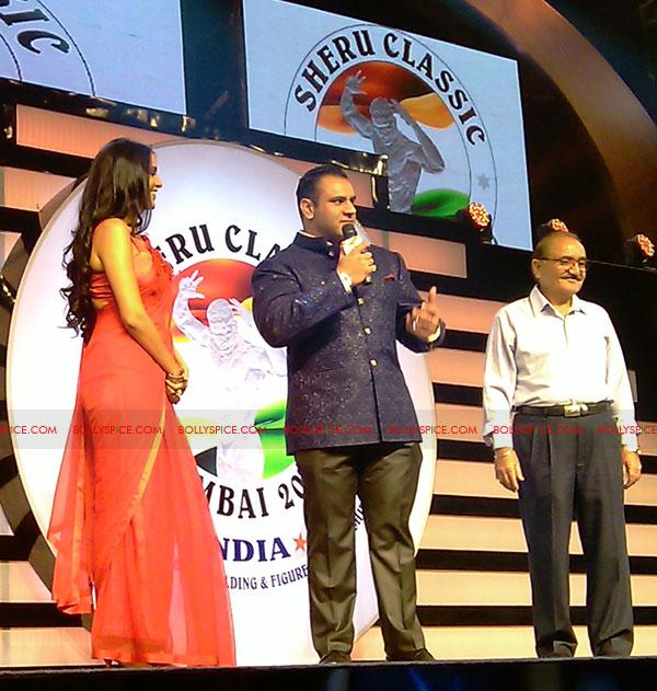 11oct sheraclassic07 Amitabh Bachchan, Sanjay Dutt and Rana at Sheru Classic 2011