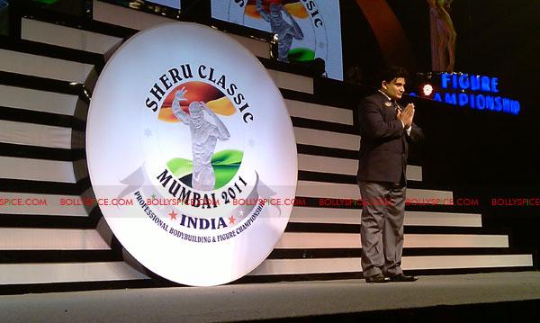 11oct sheraclassic14 Amitabh Bachchan, Sanjay Dutt and Rana at Sheru Classic 2011