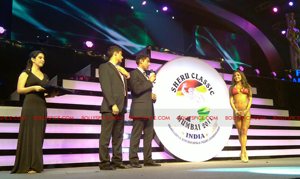 11oct sheraclassic19 Amitabh Bachchan, Sanjay Dutt and Rana at Sheru Classic 2011