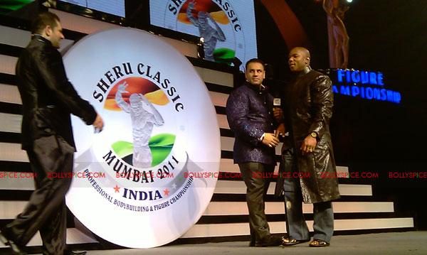 11oct sheraclassic20 Amitabh Bachchan, Sanjay Dutt and Rana at Sheru Classic 2011