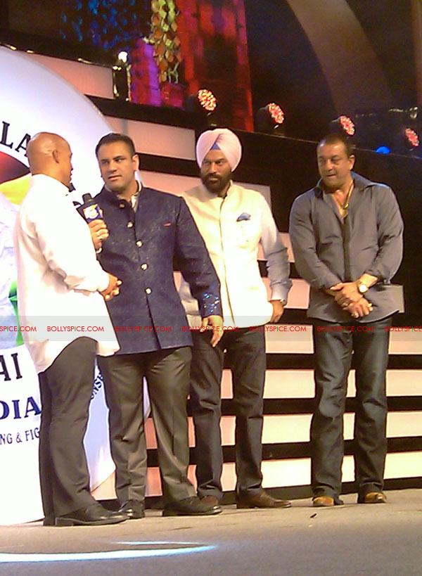 11oct sheraclassic22 Amitabh Bachchan, Sanjay Dutt and Rana at Sheru Classic 2011