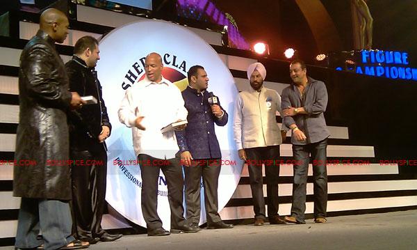 11oct sheraclassic24 Amitabh Bachchan, Sanjay Dutt and Rana at Sheru Classic 2011