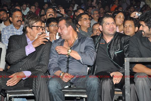 11oct sheraclassic35 Amitabh Bachchan, Sanjay Dutt and Rana at Sheru Classic 2011
