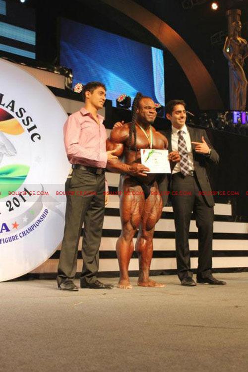 11oct sheraclassic41 Amitabh Bachchan, Sanjay Dutt and Rana at Sheru Classic 2011