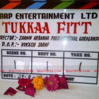 11oct tukkafitdiaries1stwk01 Tukkaa Fitt Diaries   Week 1   The Mahurat Shot