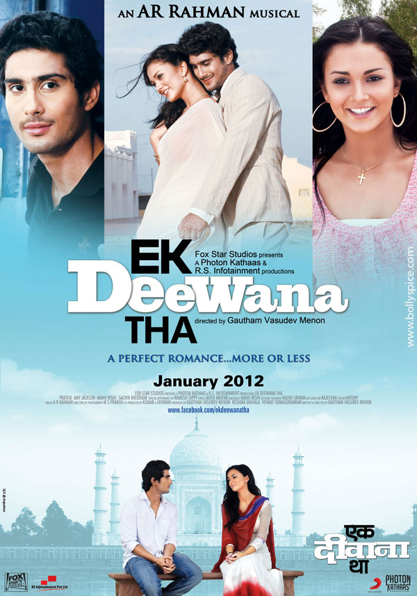 11nov EDT poster01 Another Gautham Menon Film in Hindi   Ek Deewana Tha