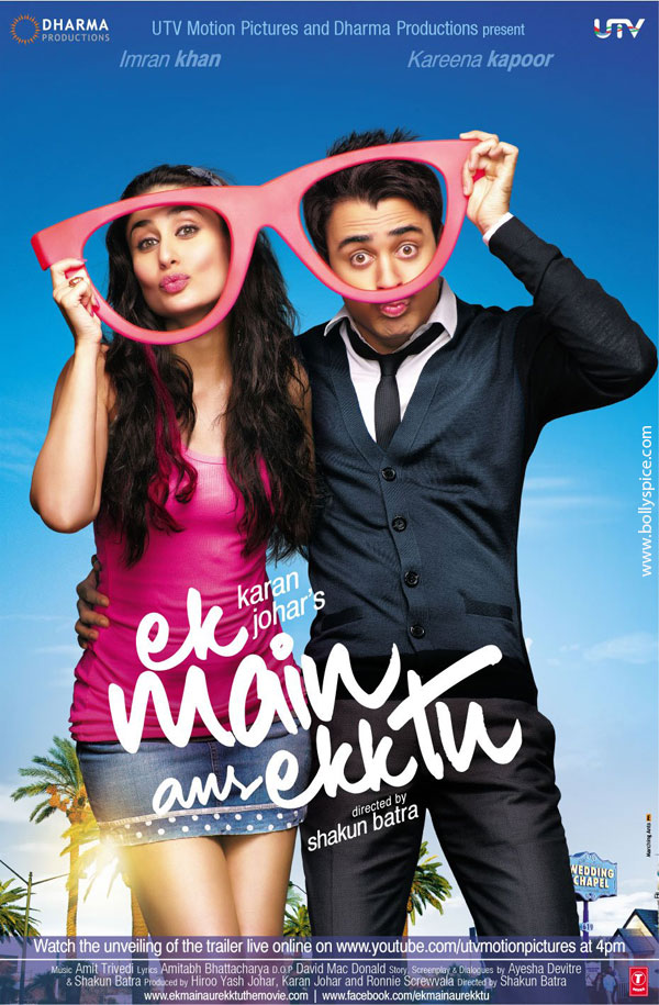 11nov EMAET 1stlookposter Reliance Home Video & Games releases Ek Main Aur Ekk Tu on BLU RAY