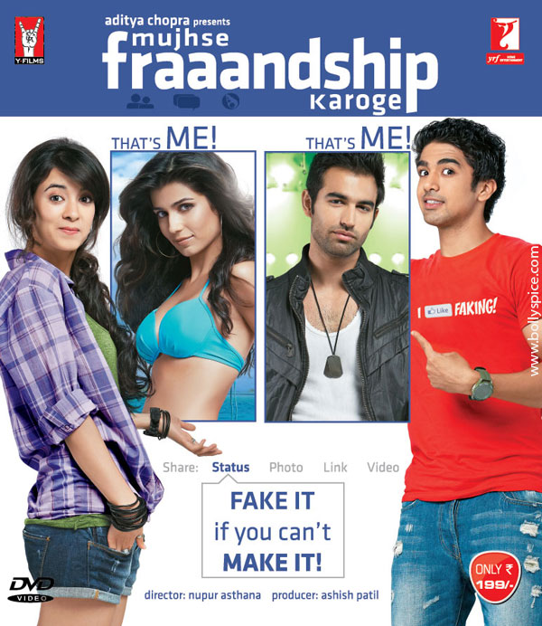 11nov MFK DVD01 Mujhse Fraaandship Karoge out on DVD!