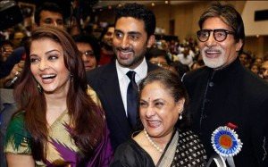 11nov bachchan02 300x187 Bollywood showers their best wishes for Baby B