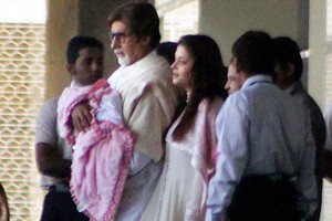 11nov beti B 1stpics01 300x200 Abhishek Bachchan: I hope Beti B realizes the joy she has brought with her