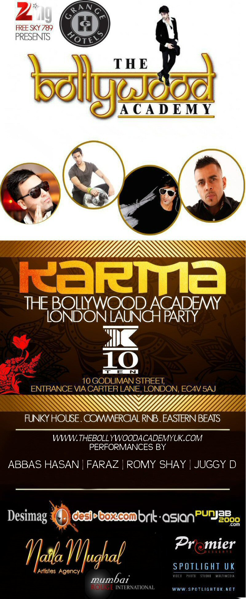 11nov bollywood academyUK The Bollywood Academy Launches in London