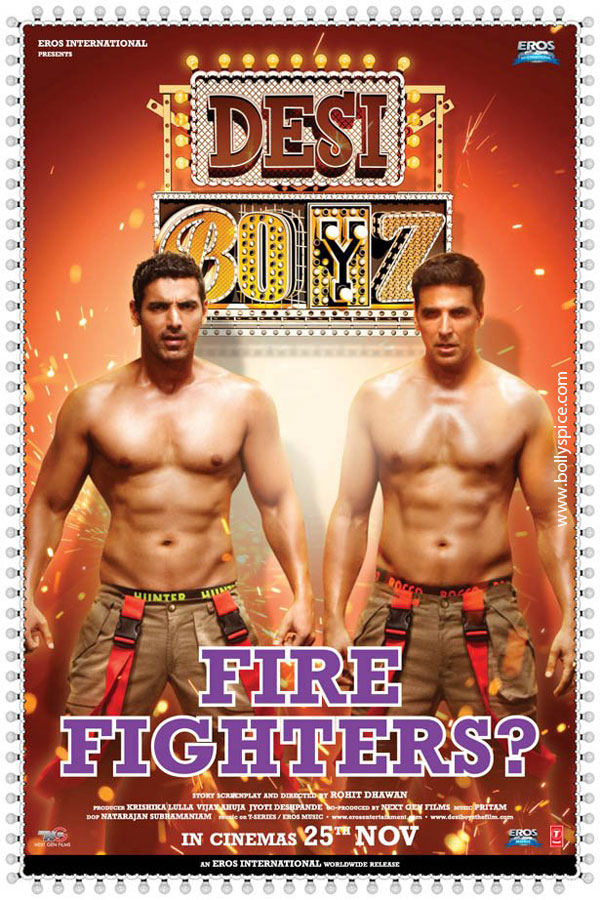 11nov desiboyz poster 01 Check out the Desi Boyz Posters & Stills