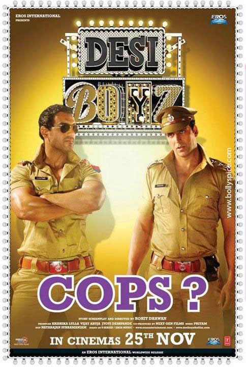11nov desiboyz poster 02 Check out the Desi Boyz Posters & Stills