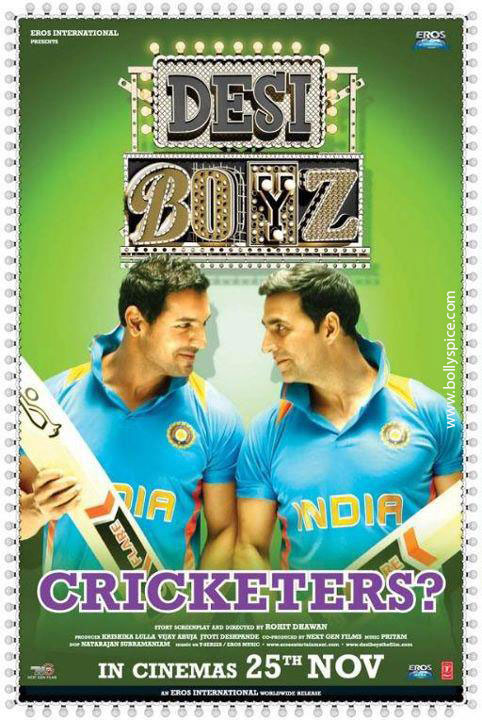 11nov desiboyz poster 03 Check out the Desi Boyz Posters & Stills