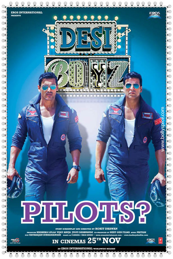 11nov desiboyz poster 04 Check out the Desi Boyz Posters & Stills