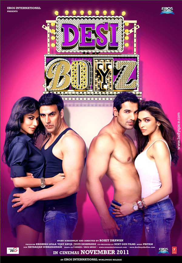 11nov desiboyz poster01 New Posters from Desi Boyz!