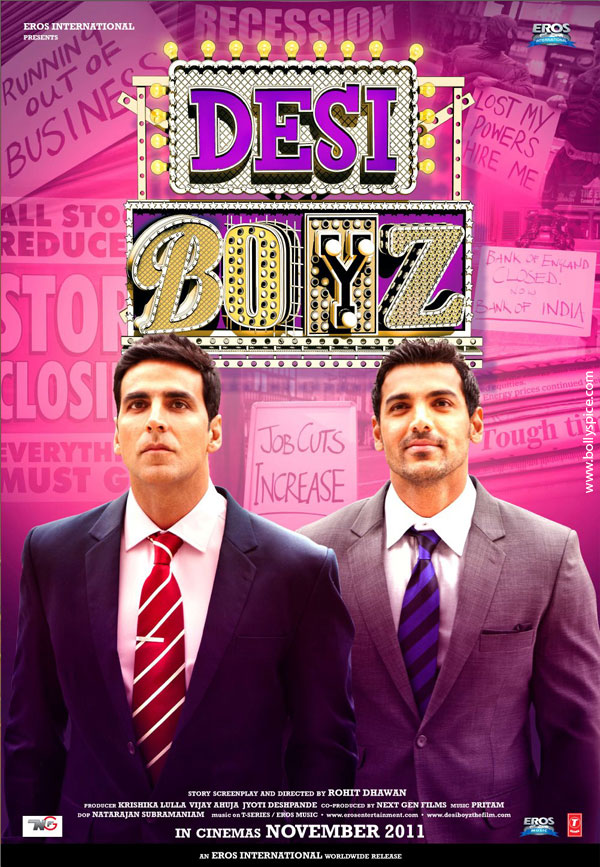 11nov desiboyz poster02 New Posters from Desi Boyz!