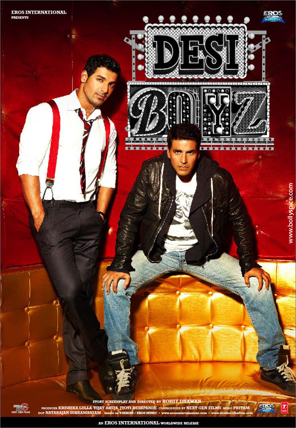 11nov desiboyz poster03 New Posters from Desi Boyz!