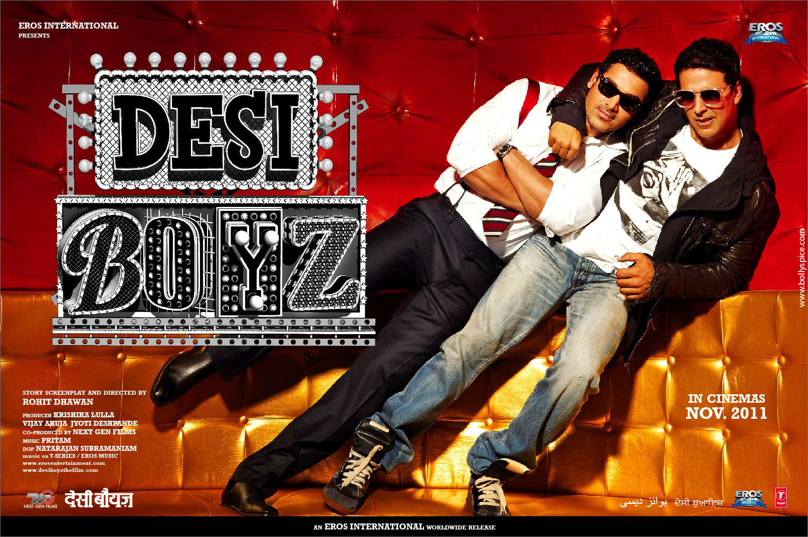 11nov desiboyz poster04 New Posters from Desi Boyz!