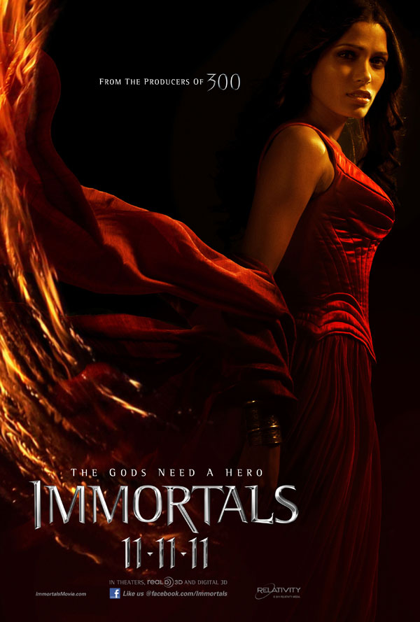 11nov immortalsopensno11 Immortals Opens #1 at US Box Office