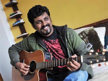 11nov raghudixitinterview 01 I think my music is the truest representation of what India is today.   Raghu Dixit
